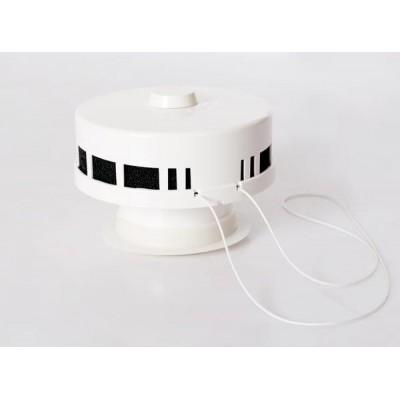 Внутренний оголовок приточного вентиляционного клапана КИВ 125